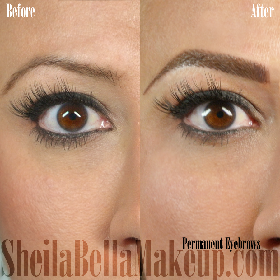 Permanent : Permanent Brows : Sheila Bella Permanent Makeup