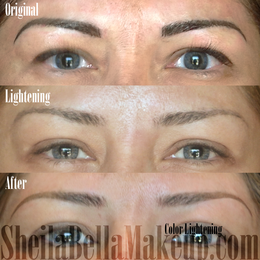 sheila bella color lightening sheila bella permanent makeup