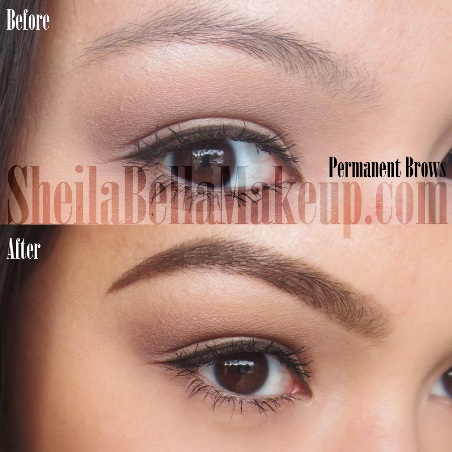 Permanent Makeup Eyebrows: Powdered Look : Sheila Bella