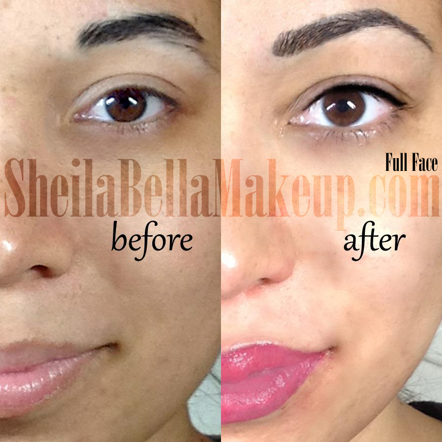 Full Face Permanent Makeup Sheila